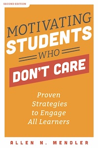 Motivating Students Who Don't Care book